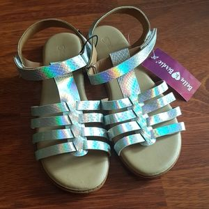 Other - Holographic Girl's Sandals Size 3